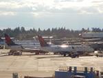 kiyohsさんが、シアトル タコマ国際空港で撮影したデルタ航空 A220-100 (BD-500-1A10)の航空フォト(飛行機 写真・画像)