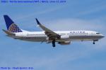 Chofu Spotter Ariaさんが、成田国際空港で撮影したユナイテッド航空 737-824の航空フォト(飛行機 写真・画像)