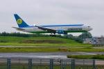 ふくそうじさんが、成田国際空港で撮影したウズベキスタン航空 767-33P/ERの航空フォト(写真)