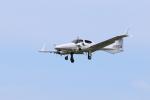 くろネコさんが、庄内空港で撮影したアルファーアビエィション DA42 TwinStarの航空フォト(写真)