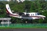 Chofu Spotter Ariaさんが、調布飛行場で撮影したアジア航測 695 Jetprop 980の航空フォト(飛行機 写真・画像)