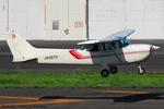 Chofu Spotter Ariaさんが、調布飛行場で撮影した東京航空 172P Skyhawkの航空フォト(飛行機 写真・画像)
