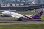契丹さんが、羽田空港で撮影したタイ国際航空 747-4D7の航空フォト(飛行機 写真・画像)