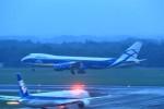 T.Sazenさんが、成田国際空港で撮影したエアブリッジ・カーゴ・エアラインズ 747-8HVF(SCD)の航空フォト(写真)
