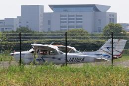 多楽さんが、調布飛行場で撮影したジェイ・ディ・エル技研 172S Skyhawk SPの航空フォト(飛行機 写真・画像)