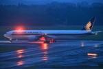 T.Sazenさんが、成田国際空港で撮影したシンガポール航空 777-312/ERの航空フォト(飛行機 写真・画像)