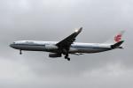 kuro2059さんが、台湾桃園国際空港で撮影した中国国際航空 A330-343Xの航空フォト(飛行機 写真・画像)