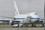 パピヨンさんが、クライストチャーチ国際空港で撮影したアメリカ航空宇宙局 747SP-21の航空フォト(写真)
