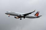 kuro2059さんが、台湾桃園国際空港で撮影したフィリピン航空 A321-231の航空フォト(写真)