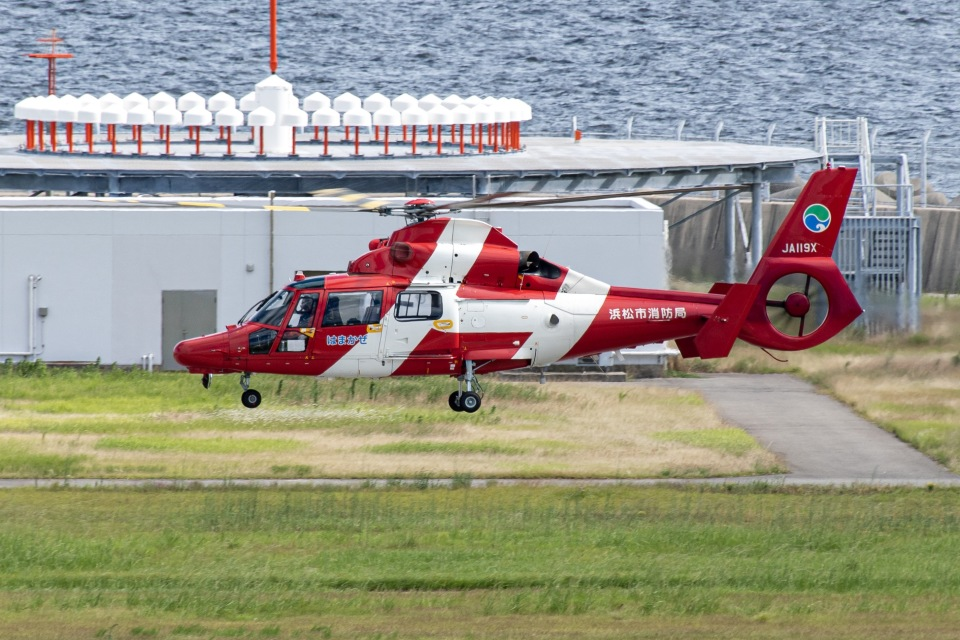 I.Kさんの浜松市消防航空隊 Eurocopter AS365/565 Dauphin 2/Panther (JA119X) 航空フォト