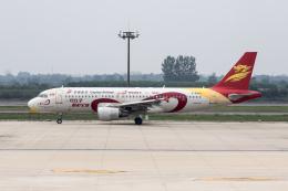 xingyeさんが、西安咸陽国際空港で撮影した北京首都航空 A320-214の航空フォト(飛行機 写真・画像)