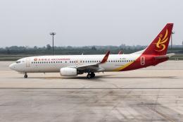 xingyeさんが、西安咸陽国際空港で撮影した長安航空 737-84Pの航空フォト(飛行機 写真・画像)