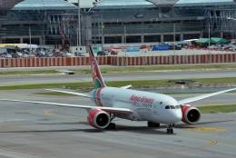 妄想竹さんが、スワンナプーム国際空港で撮影したケニア航空 787-8 Dreamlinerの航空フォト(飛行機 写真・画像)