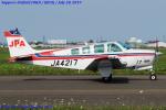 Chofu Spotter Ariaさんが、札幌飛行場で撮影したジェイピーエー A36 Bonanza 36の航空フォト(飛行機 写真・画像)