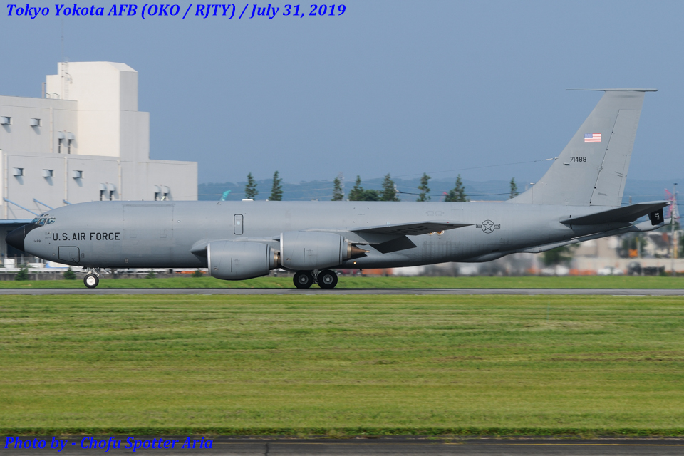 Chofu Spotter Ariaさんのアメリカ空軍 Boeing C-135 Stratolifter (57-1488) 航空フォト