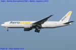 Chofu Spotter Ariaさんが、成田国際空港で撮影したエアロ・ロジック 777-FBTの航空フォト(飛行機 写真・画像)
