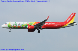 Chofu Spotter Ariaさんが、成田国際空港で撮影したベトジェットエア A321-271Nの航空フォト(写真)