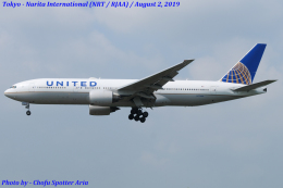 Chofu Spotter Ariaさんが、成田国際空港で撮影したユナイテッド航空 777-222の航空フォト(写真)