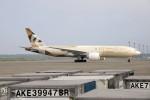 北の熊さんが、新千歳空港で撮影したエティハド航空 777-FFXの航空フォト(飛行機 写真・画像)