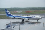 kumagorouさんが、新千歳空港で撮影した全日空 737-8ALの航空フォト(飛行機 写真・画像)