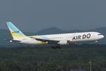 木人さんが、新千歳空港で撮影したAIR DO 767-381/ERの航空フォト(写真)