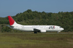 Gambardierさんが、岡山空港で撮影した日本トランスオーシャン航空 737-4K5の航空フォト(写真)