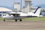 なごやんさんが、名古屋飛行場で撮影した学校法人ヒラタ学園 航空事業本部 P.68C-TC の航空フォト(写真)
