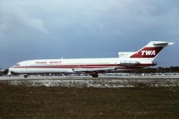 tassさんが、フォートローダーデール・ハリウッド国際空港で撮影したトランス・ワールド航空 727-231の航空フォト(写真)