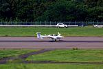 Jin Bergqiさんが、福島空港で撮影したアルファーアビエィション DA42 TwinStarの航空フォト(写真)