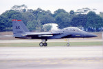 apphgさんが、シンガポール・チャンギ国際空港で撮影したアメリカ空軍 F-15E Strike Eagleの航空フォト(写真)