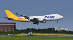 パンダさんが、成田国際空港で撮影したポーラーエアカーゴ 747-46NF/SCDの航空フォト(写真)