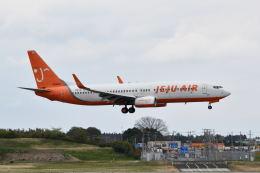 ポン太さんが、成田国際空港で撮影したチェジュ航空 737-8ALの航空フォト(飛行機 写真・画像)