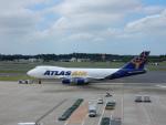 kiyohsさんが、成田国際空港で撮影したアトラス航空 747-47UF/SCDの航空フォト(飛行機 写真・画像)