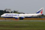 Hariboさんが、成田国際空港で撮影したウェルズ・ファーゴ・バンク・ノースウェスト 747-412の航空フォト(写真)