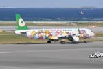 kuro2059さんが、那覇空港で撮影したエバー航空 A321-211の航空フォト(飛行機 写真・画像)