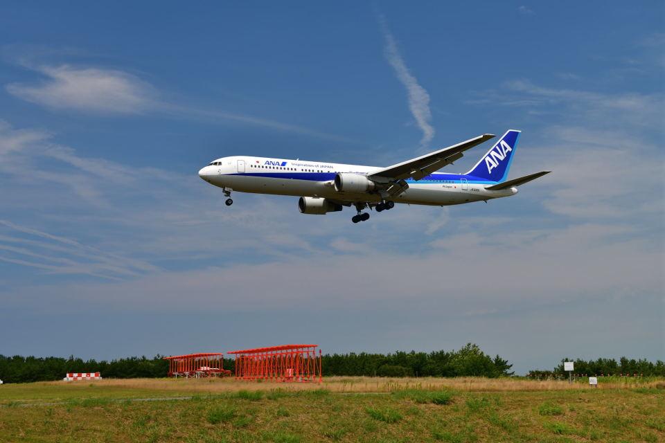 だだちゃ豆さんの全日空 Boeing 767-300 (JA616A) 航空フォト