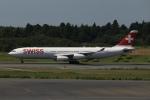 SIさんが、成田国際空港で撮影したスイスインターナショナルエアラインズ A340-313Xの航空フォト(飛行機 写真・画像)