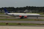 SIさんが、成田国際空港で撮影したスカンジナビア航空 A340-313Xの航空フォト(飛行機 写真・画像)