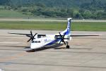 mojioさんが、青森空港で撮影したANAウイングス DHC-8-402Q Dash 8の航空フォト(飛行機 写真・画像)
