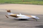 ドリさんが、福島空港で撮影したMGMミラージュ G-V Gulfstream Vの航空フォト(写真)