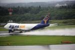 T.Sazenさんが、成田国際空港で撮影したアトラス航空 747-47UF/SCDの航空フォト(写真)