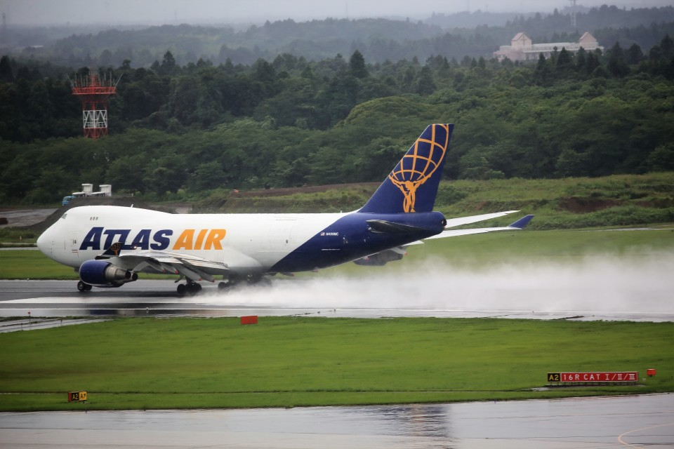 T.Sazenさんのアトラス航空 Boeing 747-400 (N499MC) 航空フォト