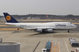sky-spotterさんが、成田国際空港で撮影したルフトハンザドイツ航空 747-430の航空フォト(飛行機 写真・画像)