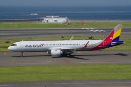 yabyanさんが、中部国際空港で撮影したアシアナ航空 A321-251NXの航空フォト(写真)