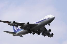 senyoさんが、羽田空港で撮影した全日空 747-281Bの航空フォト(飛行機 写真・画像)