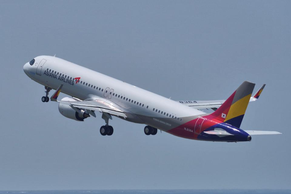 yabyanさんのアシアナ航空 Airbus A321neo (HL8364) 航空フォト