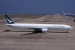 yabyanさんが、中部国際空港で撮影したキャセイパシフィック航空 777-31Hの航空フォト(写真)