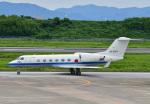 じーく。さんが、長崎空港で撮影した航空自衛隊 U-4 Gulfstream IV (G-IV-MPA)の航空フォト(飛行機 写真・画像)