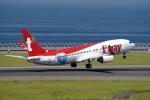 yabyanさんが、中部国際空港で撮影したティーウェイ航空 737-83Nの航空フォト(飛行機 写真・画像)