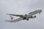 ANA744Foreverさんが、那覇空港で撮影した日本航空 777-346の航空フォト(写真)